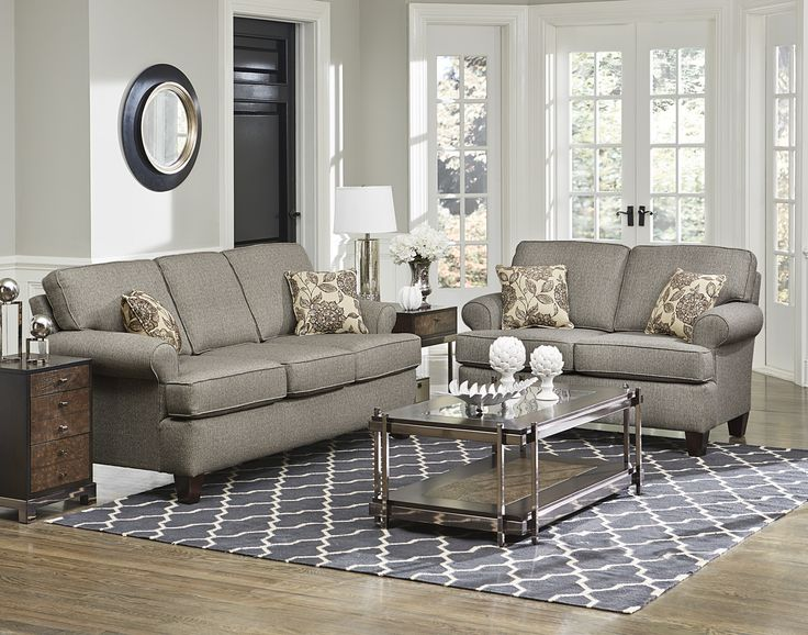 England Furniture 5380 With Embrace Grey And Amerie Portrait Fabrics.  England FurnitureFurniture CatalogLiving Room ... Part 57