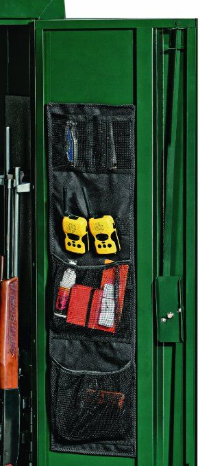 Gun Safe Door Organizer : Stack-On SPAO-148 Small Fabric Organizer for Stack-On Long-Gun Cabinets