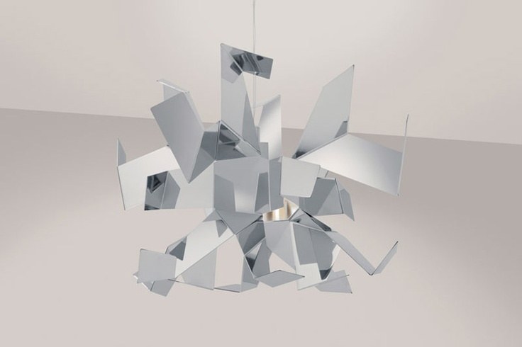 #light #lighting #lamp  #design Glow Pendant by Enrico Franzolini and Vicente García Jiminez
