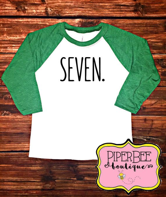 Hot New Products 17c74 26241 Seven Year Old Birthday Shirt Seventh Boy