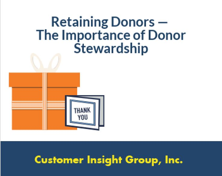 What is a donor stewardship? Why is it important and how do you create a donor stewardship plan?