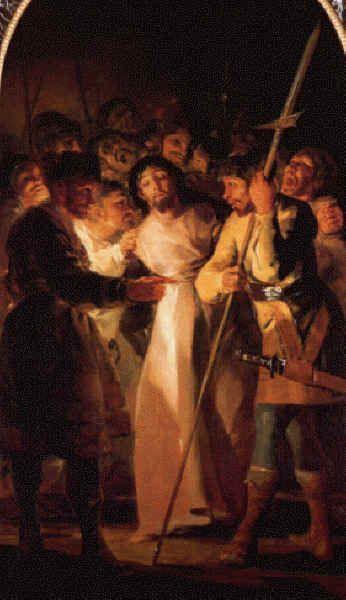 El prendimiento de Cristo, de Goya