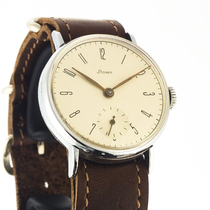 Seldom to have a Stowa watch in perfect condition - look at that dial, sunlight has never scratched it's face