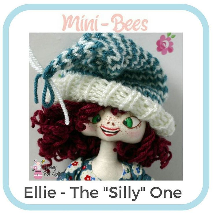 Here's the next mini-Bee  Well Ellie as I am sure you can tell is the Silly one and my goodness me is she silly if you are ever sad or feeling a little blue Ellie is there because although silly she still has a heart of gold and will try her utmost to cheer you up pulling faces doing little silly dances and generally fooling about trying to make you smile. And she doesnt worry about where she is or who she is with she will act silly anywhere.  Her bestie wont be out for quite a long time as…