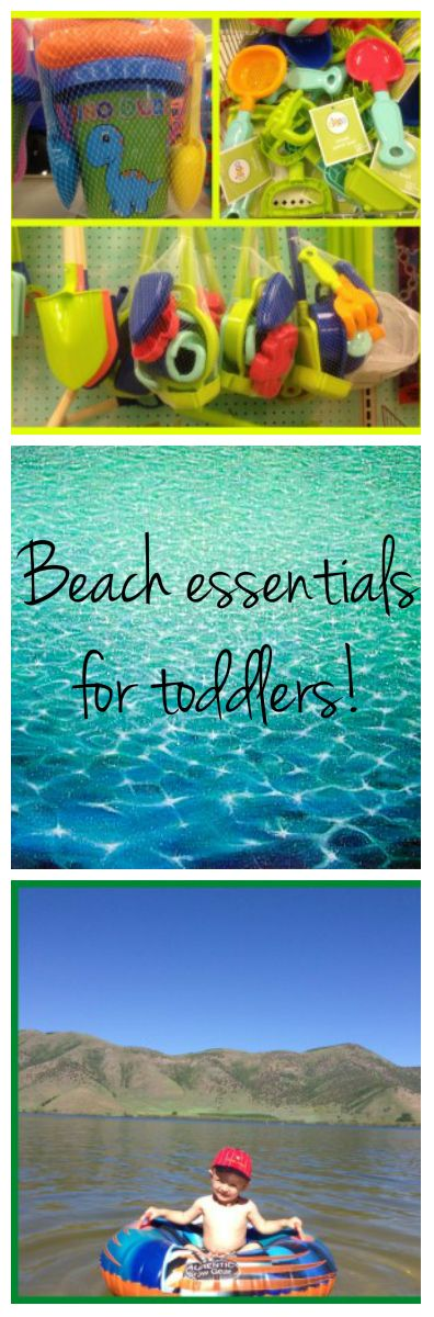 Best list I've found of essentials for your little ones at the beach! She even includes a printable list! #toddlers #beach #summer