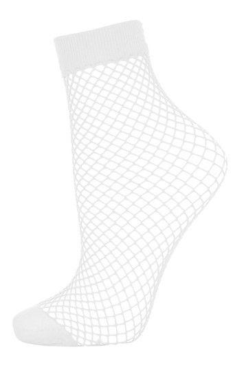 Lingerie Chaussettes et collants Femmes - Topshop Socquettes en résille