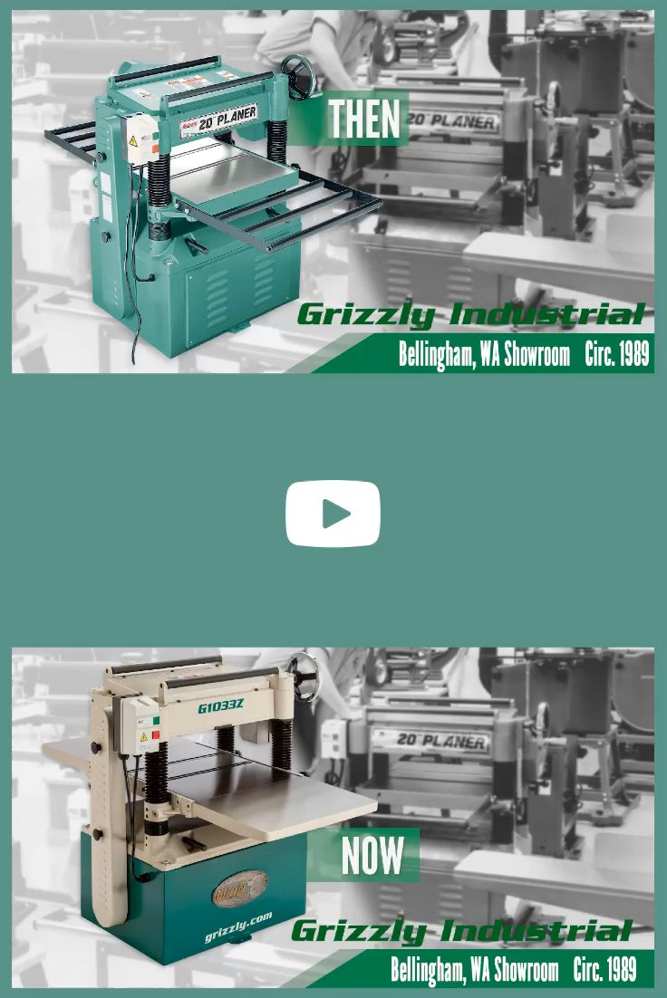 For almost 40 years this wood planer has been a staple for