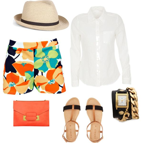"""Backyard BBQ Outfit"" by stylemedenver on Polyvore"