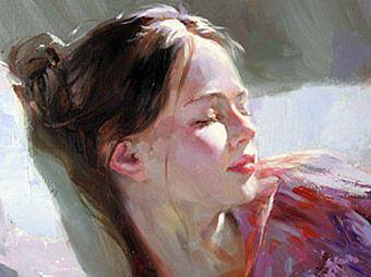 Pink Dream (detail) - Vladimir Volegov