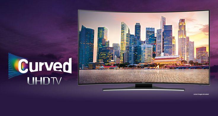 "Harga Samsung Curved TV UA55HU7200 55"""
