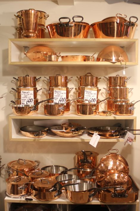 Perfect Mauviel Brass Copper Cook Wear. Oh Yes, My Dream Is Coming True!