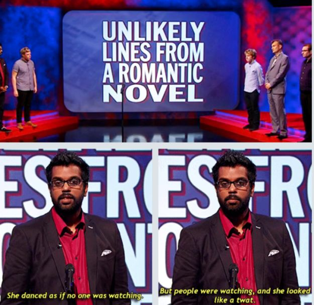 And an even better response to this challenge on Mock The Week. | 17 Times Romesh Ranganathan Was The Hero Britain Needed