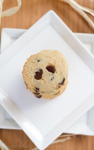 Coconut Flour Chocolate Chip Cookies-4359