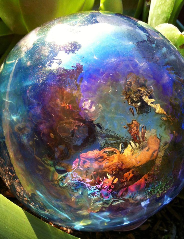 Garden glass sphere :)