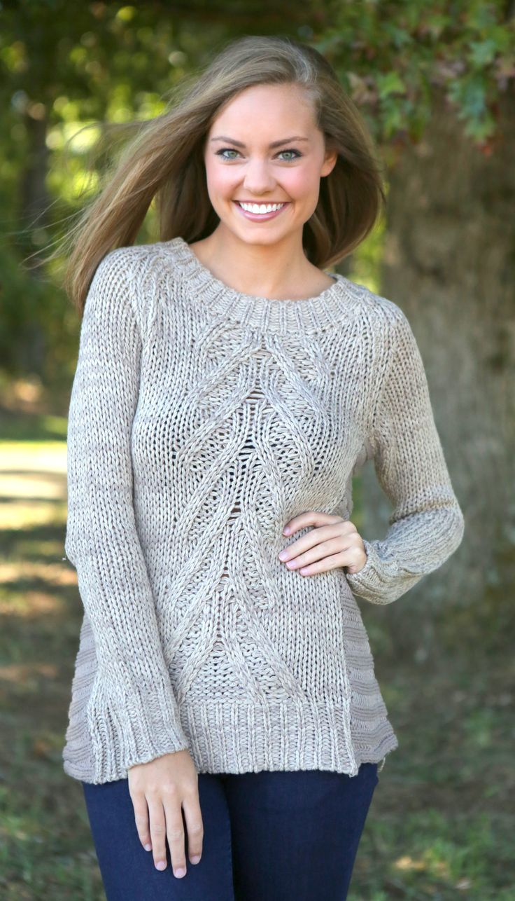 The Best Of Times Sweater-Oatmeal - What's New