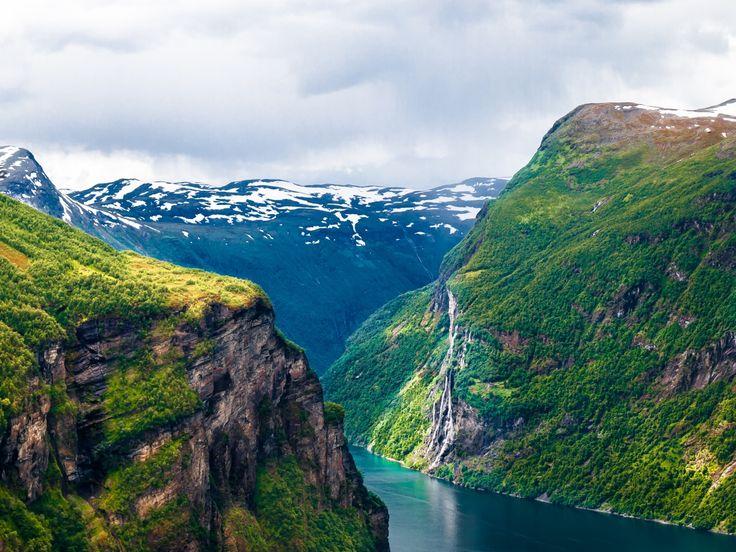 Kajakken in Noorwegen