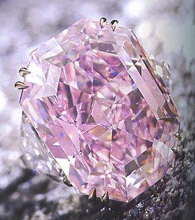 Anel Diamante Rosa Vívido