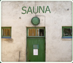 Rajaportin sauna, Pispala, Tampere, Finland