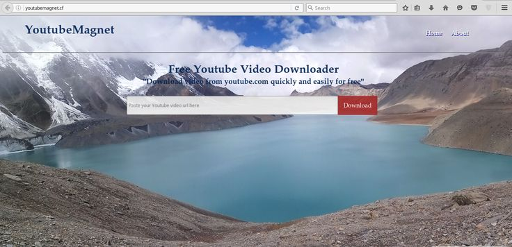 A magnificient online youtube downloader!! Download videos and audio from Youtube of any Quality. Best youtube Downloader ever!