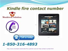 How to find the free Amazon Kindle fire Customer Service with us 1-850-316-4893? To get the freebie Amazon Kindle fire Customer Service, you need to go through the steps that are mentioned below: •	Design a pre-questionable list that you are supposedly asked from the Amazon experts. •	Now you are necessarily inclined to make use of the Amazon kindle fire mode of services out of remote, online, and instructional one. •	Now get on your telephone and then get some Amazon adroit by just placing…