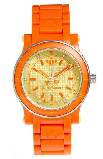 orange watches.......yes!