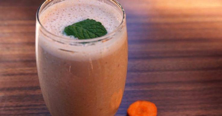 Batido de cenoura | SAPO Lifestyle