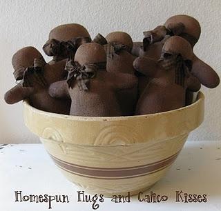 Prim Gingers: Calico Kiss, Bowls Fillers, Homespun Hugs, Primitive Gingerbread, Primitive Christmas, Prim Gingers, Gingerbread Man, Gingerbread But, Salts Dough
