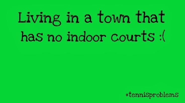 It sucks. #tennisproblems tennis problems