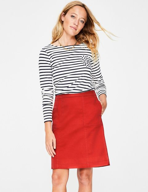 019c0cc74f Helena Chino Skirt T0319 Above Knee Skirts at Boden   Clothes I Want ...