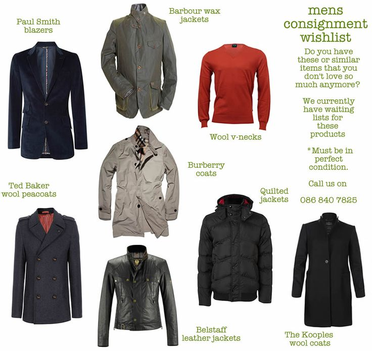 1. Paul Smith - blazers 2. Barbour wax jackets 3. Wool v-necks 4. Burberry - coats 5. Ted Baker - wool peacoats 6. Belstaff - leather jackets 7. Quilted jackets 8. The Kooples - wool coats #men #fashion #winter #wishlist #jacket #blazer #coats #wool #app