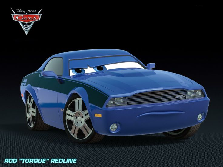 "Cars 2 Movie rod ""torque"" redline voiced by Bruce Campbell"