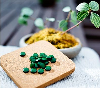 Organic Broken Cell Wall Chlorella Tablets Helps Bowel Movement/ Maintain Healthy Metabolism Promote Detox. Chlorella is the highest source of chlorophyll, which is natural detoxifier, and a catalyst for the absorption of other elements, including iron.
