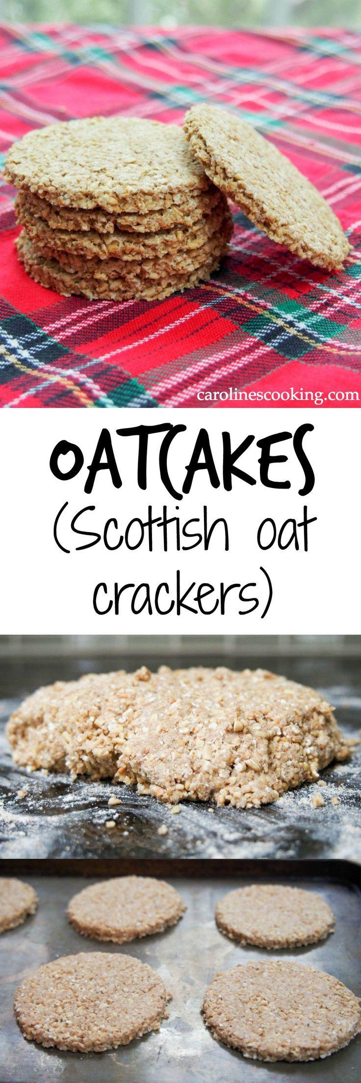 oatcakes (Scottish oat crackers)