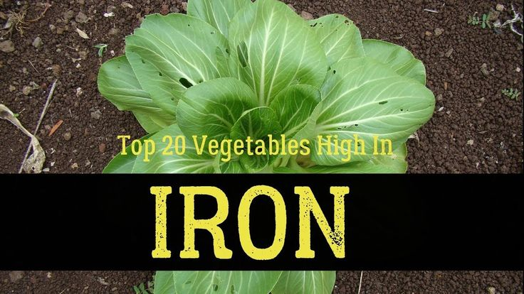 Top 20 Vegetables High In Iron