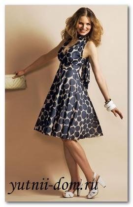 Как быстро сшить платье с завышенной талией