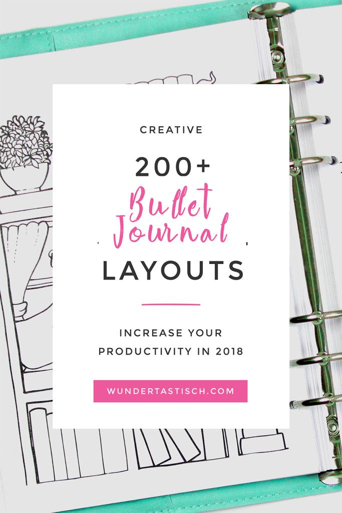 Setting up and customizing your Bullet Journal was never easier thanks to these templates. Print out any of the over 200 beautiful bullet journal layouts 2018 you enjoy and set it up in the order that works best for YOU. As your needs change and grow so should your personal planner.