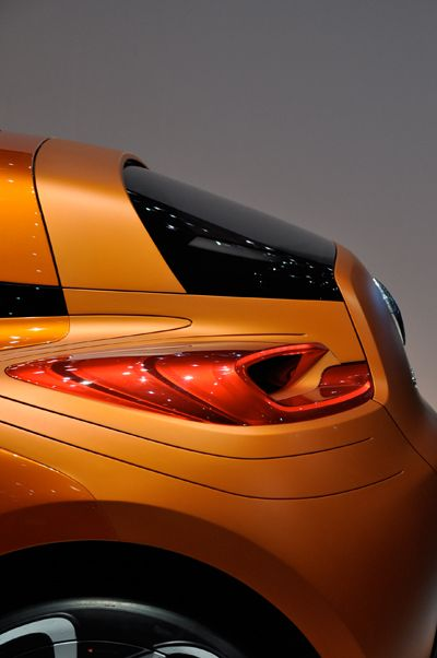 The 2011 Renault Capture Rear Lamp Design