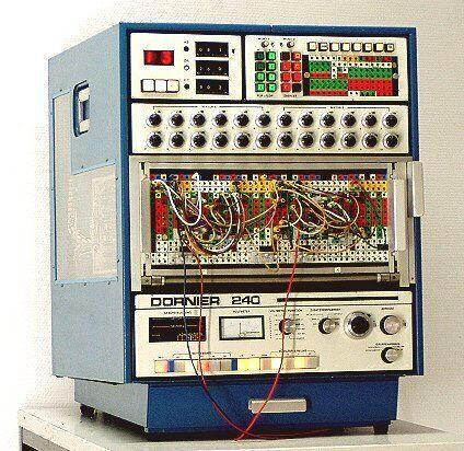 Patch Bay Computer – Pic inks to VERY COOL article on analog computers and calculators by the Museum of Computer and Communication Technology.  Read i…