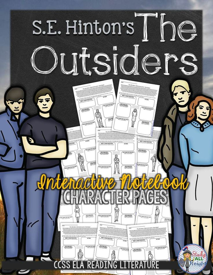 english response to the outsiders Suggested essay topics and project ideas for the outsiders part of a detailed lesson plan by bookragscom.
