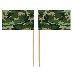 PP Camouflage leger feest prikkers