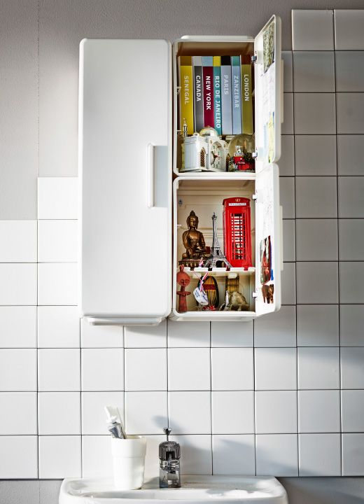 Designed to be fun and modern, LEJEN bathroom cabinets are flexible and can be combined in many