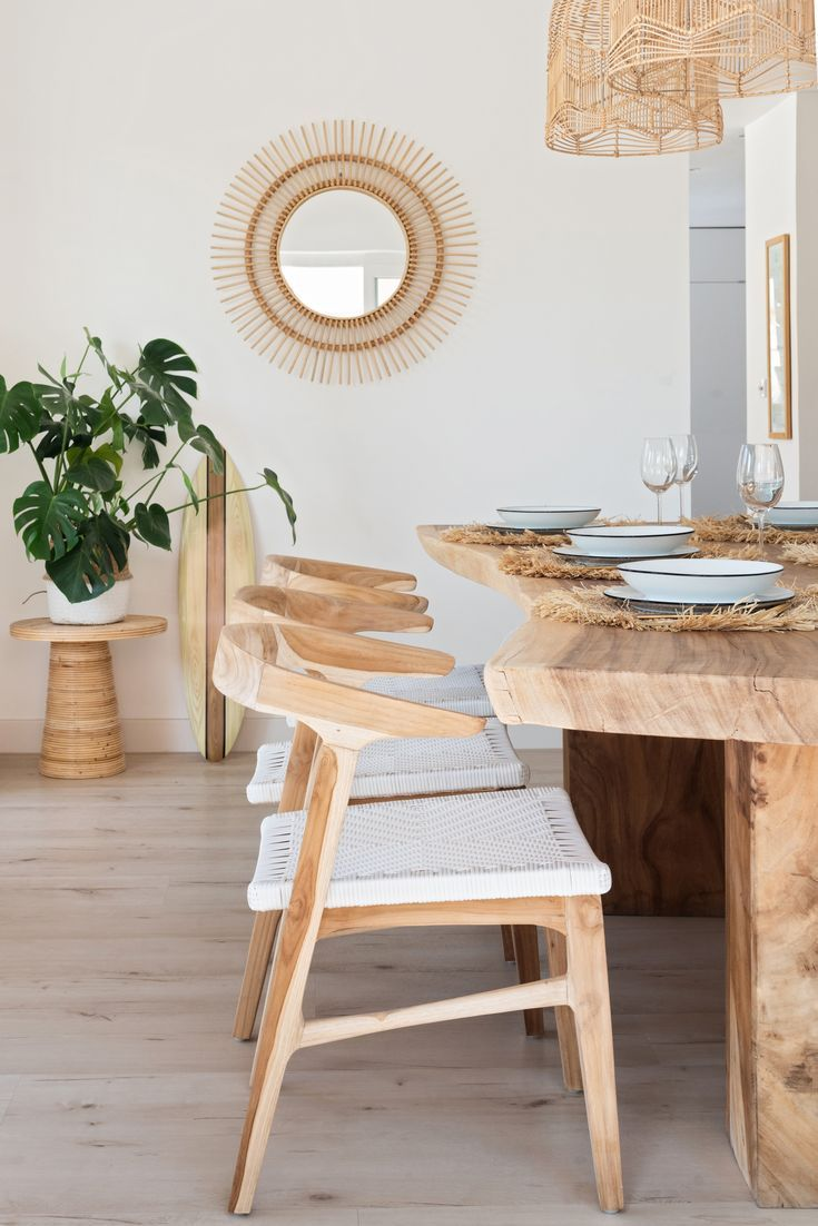 Dining Chair Inspiration Light Wood Chairs Raw Edge Dining Table Rattan And Wood Chair Light F Wood Dining Room Table Rattan Dining Chairs Wood Dining Room