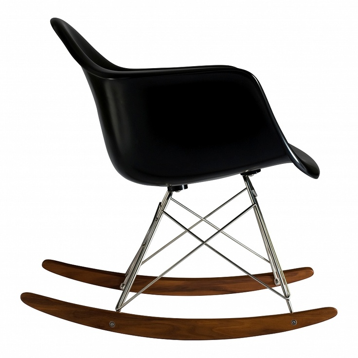 Eames Plastic RAR кресло-качалка