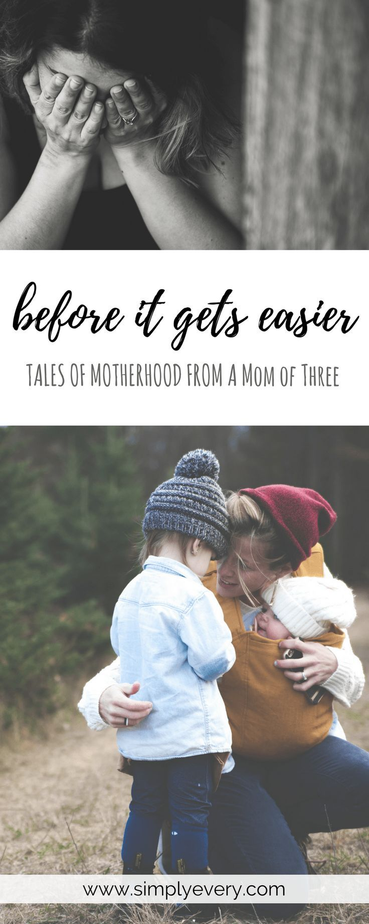 Before It Gets Easier - Tales of Motherhood from a Mom of Three, parenting, #momlife, mom of three, boy mom, days are long, years are short, motherhood, advice for parents, parenting advice, encouragement for moms
