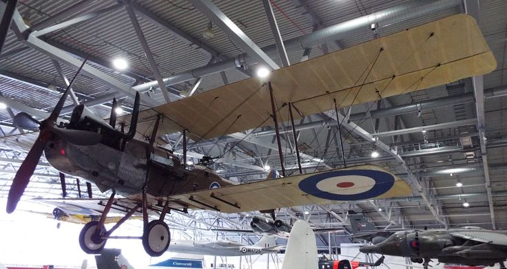 Royal Aircraft Factory RE8 1917 Imperial War Museum Duxford