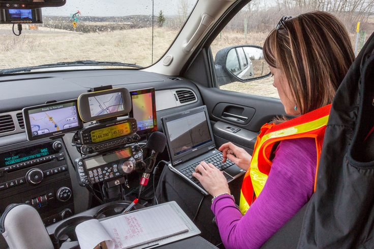 This photo was shot while participating in an emergency preparedness exercise with FARS in southern Alberta.