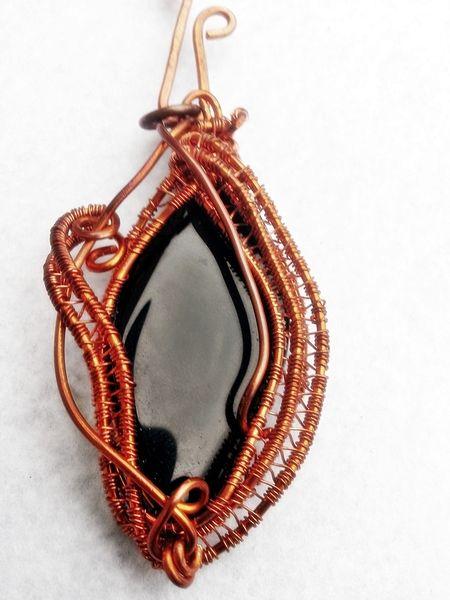 """MAGICZNY WISIOR Miedź """"ELEGANT"""" w  Biżuteria ze Szczyptą  Magii * by SHINE na DaWanda.com"""