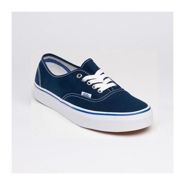66c873476da Vans Authentic Shoes WomensMens Classic Canvas Sneakers Navy Blue   vans4u4141  -  39.99   Vans Shop