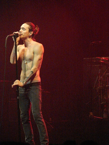 Brandon Boyd...the reason for my lifelong soft spot for tall, scrawny men, among others.