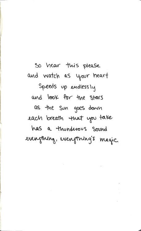 Everything's Magic-Angels and Airwaves <3